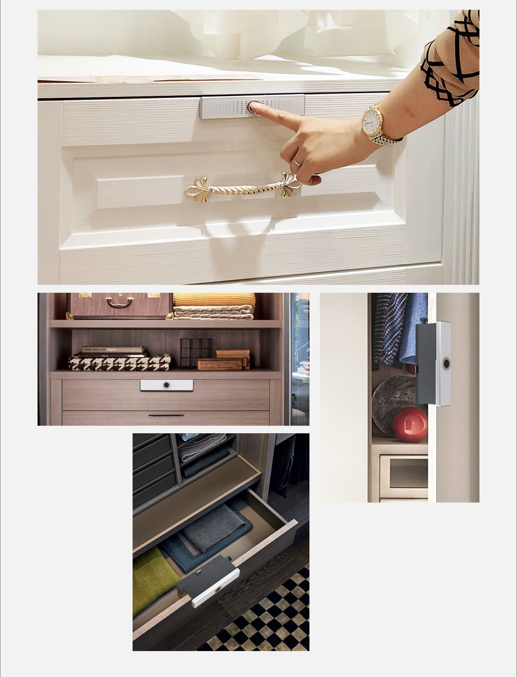 Yala cu amprenta pentru sertar/dulap 11
