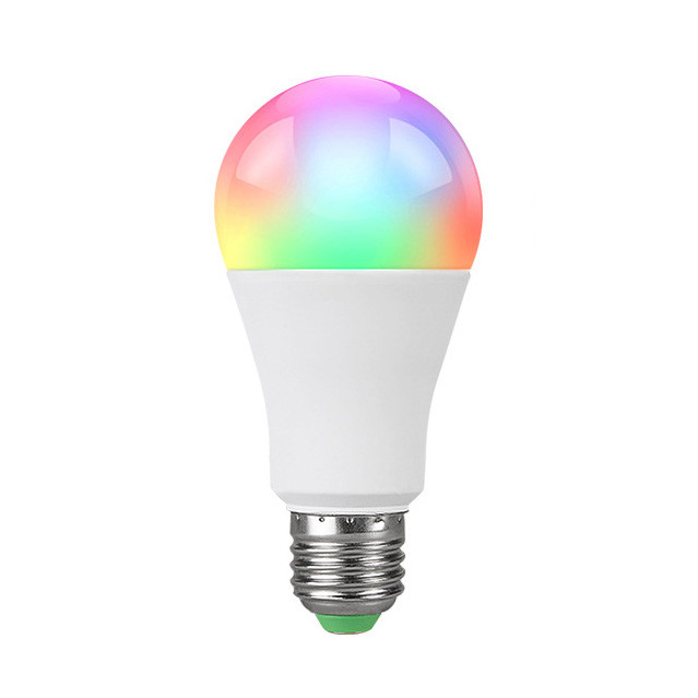 Bec inteligent LED RGB, cu Bluetooth, 7W, E27