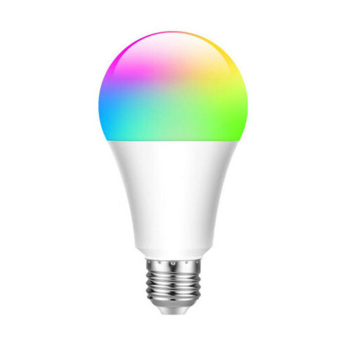 Bec inteligent LED RGB, cu Bluetooth, 7.5W, E27 12