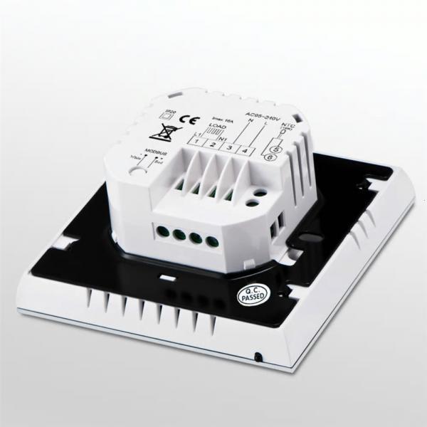 Termostat Inteligent pentru centrala pe gaz, panou tactil, Wi-Fi, compatibil Amazon Alexa si Google Home 2