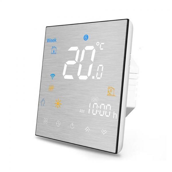 Termostat Inteligent MoesHouse BHT-3000GCLW cu WIFI si display tactil pentru centrala pe gaz 20