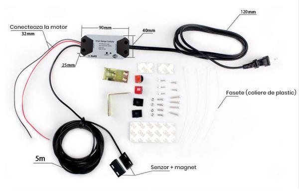 Controler Wi-Fi pentru usa de garaj, control de la distanta 4