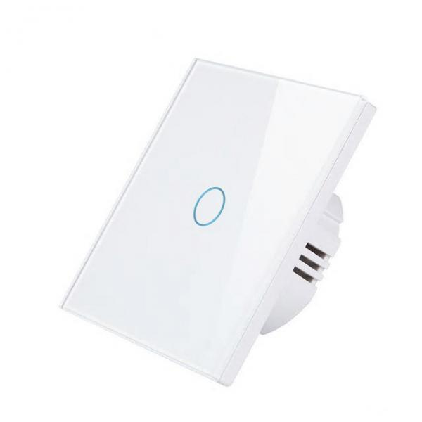 Intrerupator Wireless RF cu touch, panou tactil de sticla, Smart Lighting Switch 1