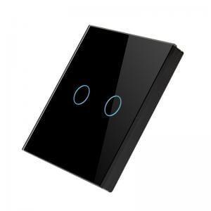 Telecomanda wireless RF tip panou, dublu, din sticla 16