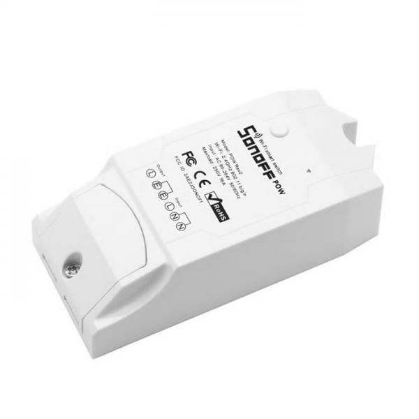 Releu Wi-Fi, Monitorizare Consum, inteligent cu un canal, POW R2, Sonoff 13