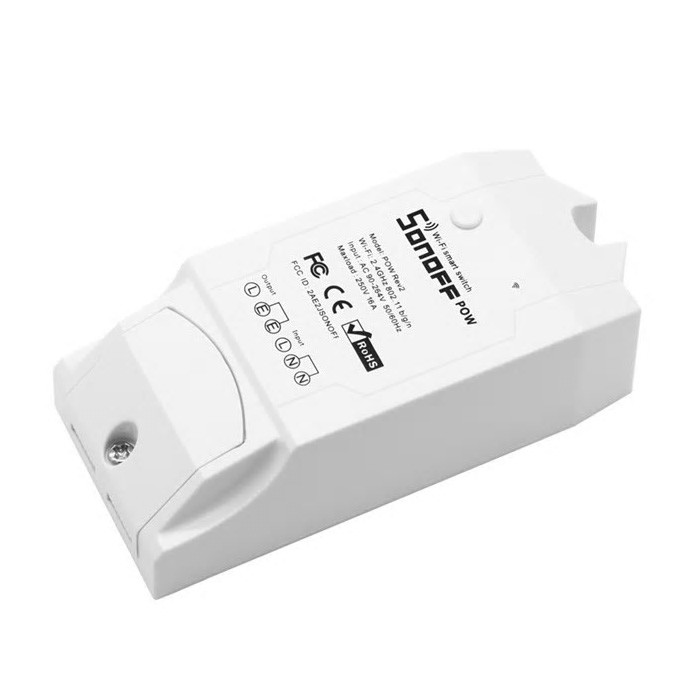 Releu Wi-Fi, Monitorizare Consum, inteligent cu un canal, POW R2, Sonoff