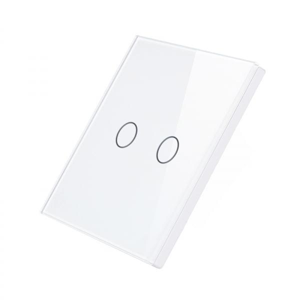 Telecomanda wireless RF tip panou buton tactil din sticla Smart Home 2