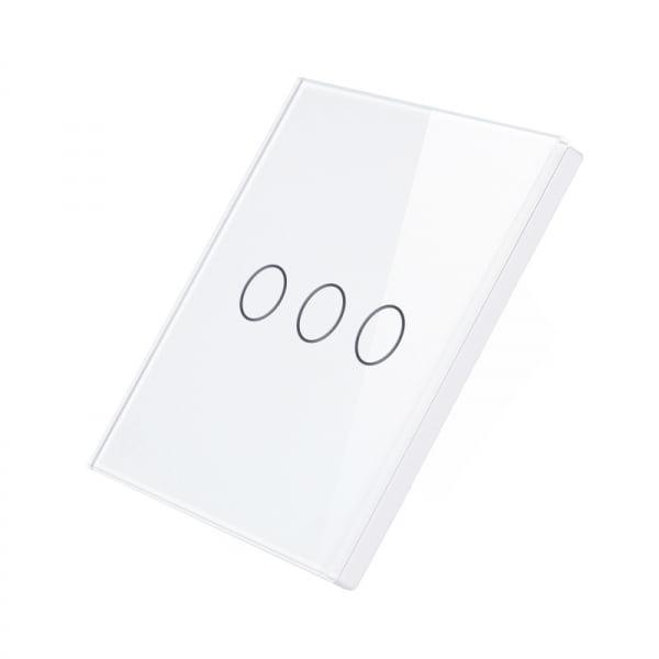 Telecomanda wireless RF tip panou buton tactil din sticla Smart Home 4