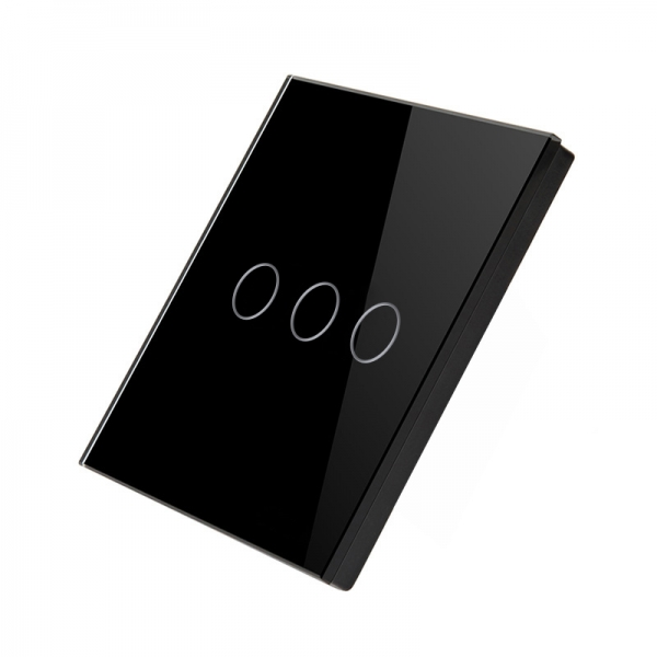 Telecomanda wireless RF tip panou buton tactil din sticla Smart Home 5