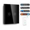 Intrerupător touch inteligent pentru Cortina, Wi-Fi, compatibil Google Home si Amazon Alexa, Smart Home 5