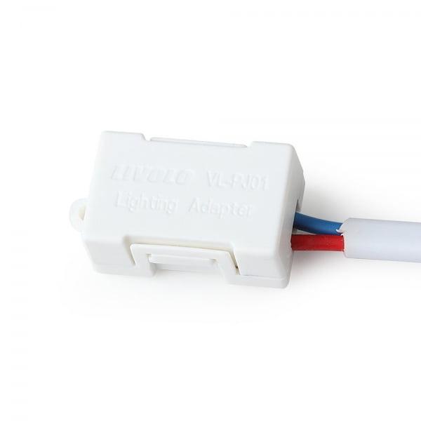 Adaptor/condensator anti-licarire bec cu LED <5W pentru intrerupatoarele cu touch/tactile 3