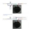 Adaptor/condensator anti-licarire bec cu LED <5W pentru intrerupatoarele cu touch/tactile 12