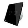 Intrerupator touch wireless cu protocol Zigbee, panou tactil din sticla, Livolo 22