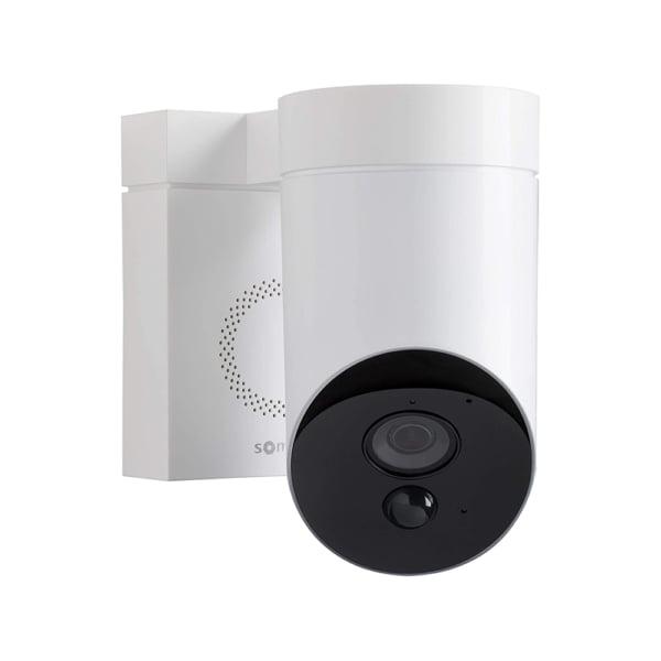 Camera de supraveghere de exterior Somfy, Wifi, 1080p Full HD, Sirena 110 dB, Posibila conexiune la corpul de iluminat existent 25