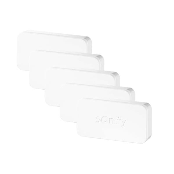 Intellitag™ Senzor pentru usa/fereastra interior sau exterior, Compatibil cu Somfy One, One+, Home Alarm, Pachet 5 bucati 15
