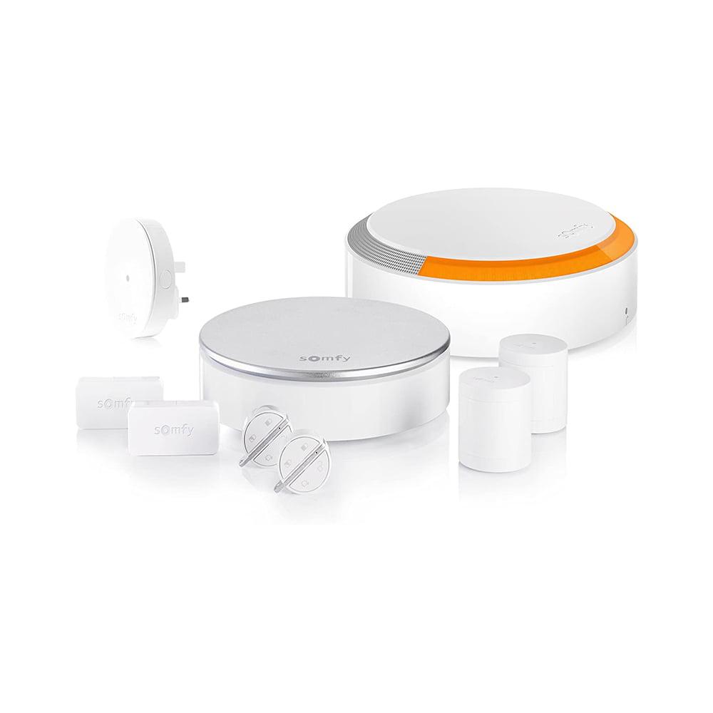 Pachet Home Alarm Premium Somfy, Sirena de interior, Sirena pentru exterior, Brelocuri si INTELLITAG™