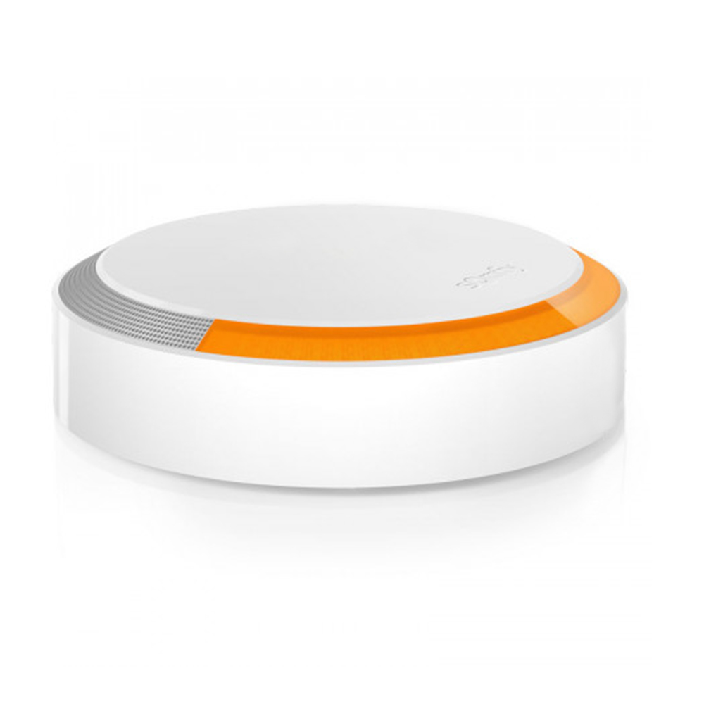 Sirena de exterior Somfy, 112 dB, Compatibil cu Somfy One, One+, Somfy Home Alarm