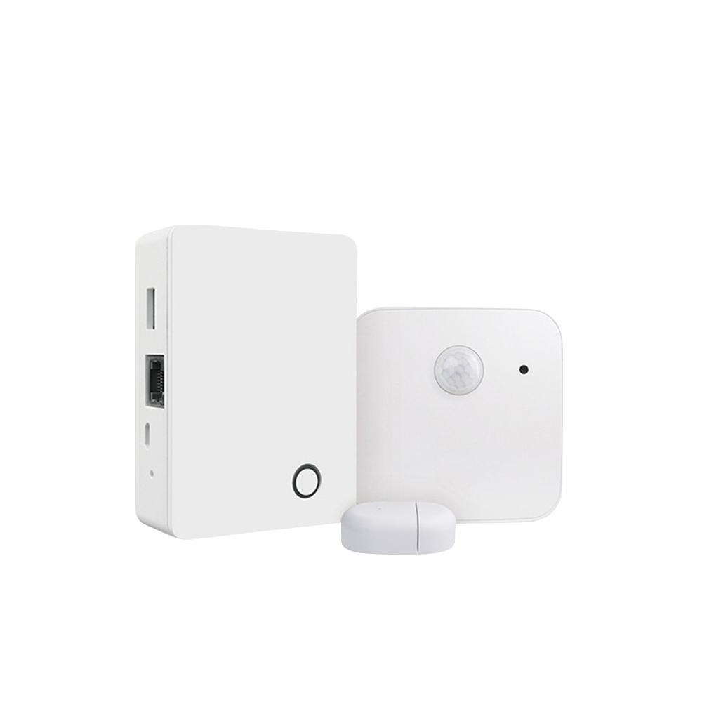Sistem de alarma BroadLink BestCon MSK1, senzori de miscare, temperatura, umiditate