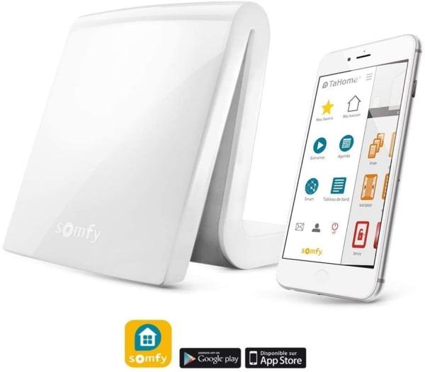 Unitate de comanda Somfy TaHoma DIY pentru controlul intregii locuinte, Compatibil cu Alexa, Google Home 3
