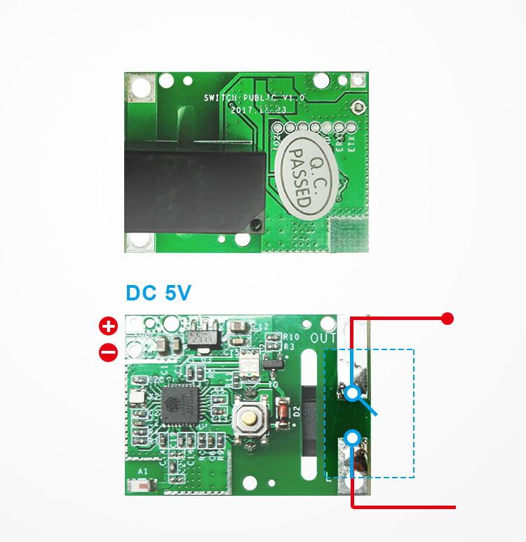 Releu modul smart Sonoff, 5V, Wi-Fi, Compatibil cu Google Home, Alexa & IFTTT 10