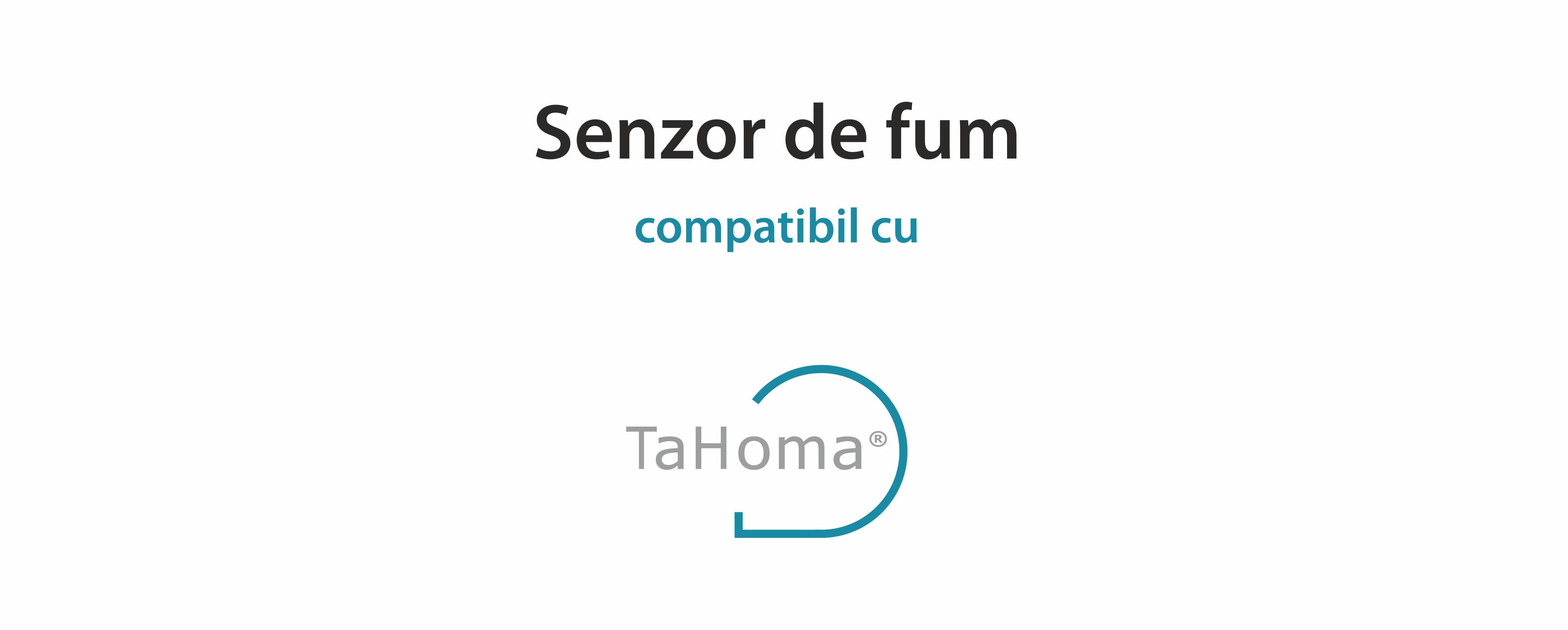 Senzor de fum TaHoma cu Alarma Integrata pentru Detectarea incendiilor, IP20, Frecventa radio 868-870 MHz 14