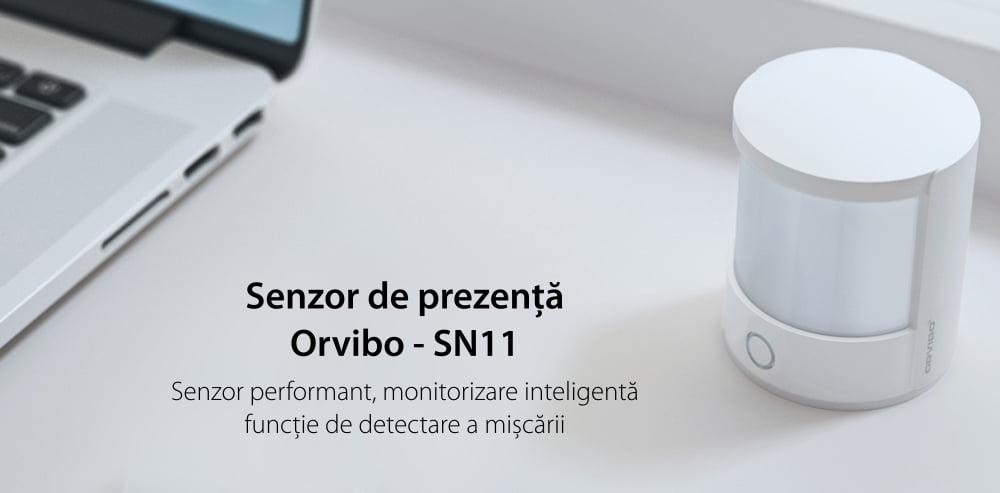 Senzor de prezenta si miscare Orvibo protocol ZigBee 14