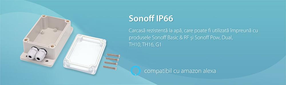 Carcasa rezistenta la apa pentru releu Sonoff IP66 17