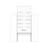 Pachet Suport perete + Telecomanda RF Sonoff RM433 cu Functie Sincronizare Wi-Fi, Reglaj intensitate lumini, Reglaj viteza ventilator 9