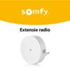 Extensie radio Somfy Protect, Compatibil cu Somfy One, One+, Somfy Home Alarm 8