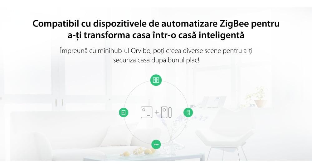 Senzor pentru usi si ferestre Orvibo, protocol ZigBee 18