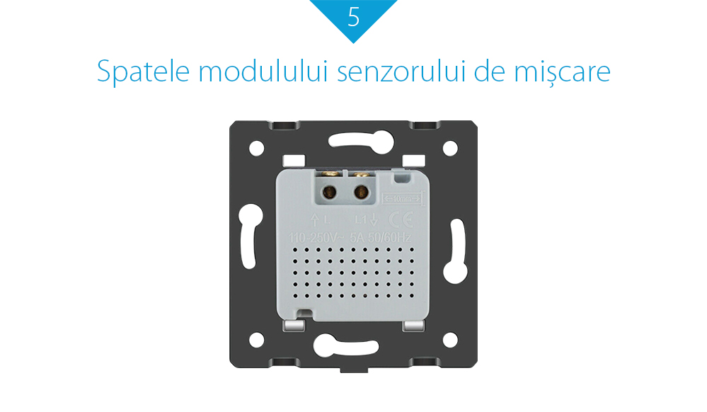 Modul senzor de miscare PIR pentru prizele din sticla Livolo 18