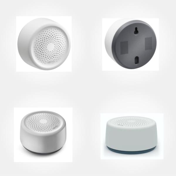 Sirena de interior io, Nivel sonor reglabil, Puternic 95 dB, Compatibil cu TaHoma Somfy, cu Senzori si Detectori suplimentari Somfy 4