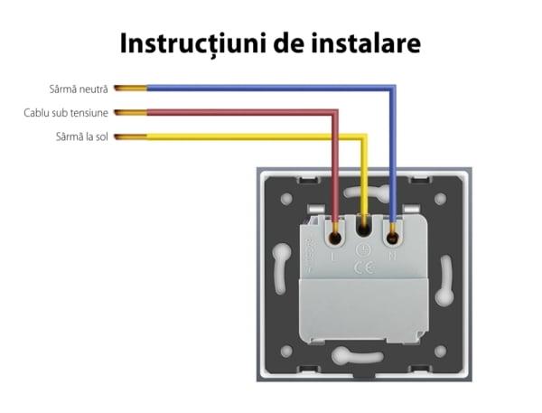 Modul priza inteligenta incastrata Livolo, functie ZigBee, 16V, Wi-Fi, Compatibil cu Alexa si Google Home 3