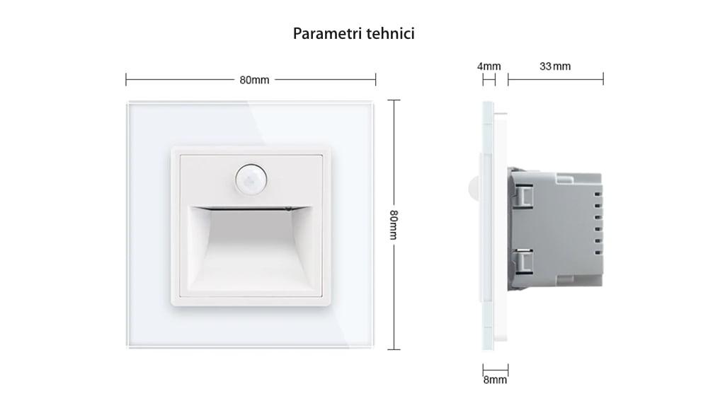 Modul Lampa de Veghe cu Senzor de Miscare si senzor Noapte/Zi Incorporat, Livolo 24