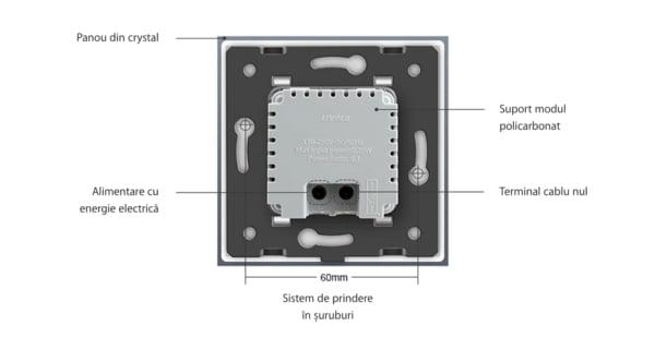 Modul Lampa de Veghe cu Senzor de Miscare Incorporat, Livolo 3