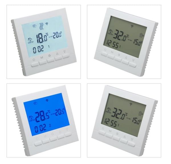 Termostat WiFi pentru centrala termica pe gaz si incalzire in pardoseala BeOk BOT-313WiFi 7