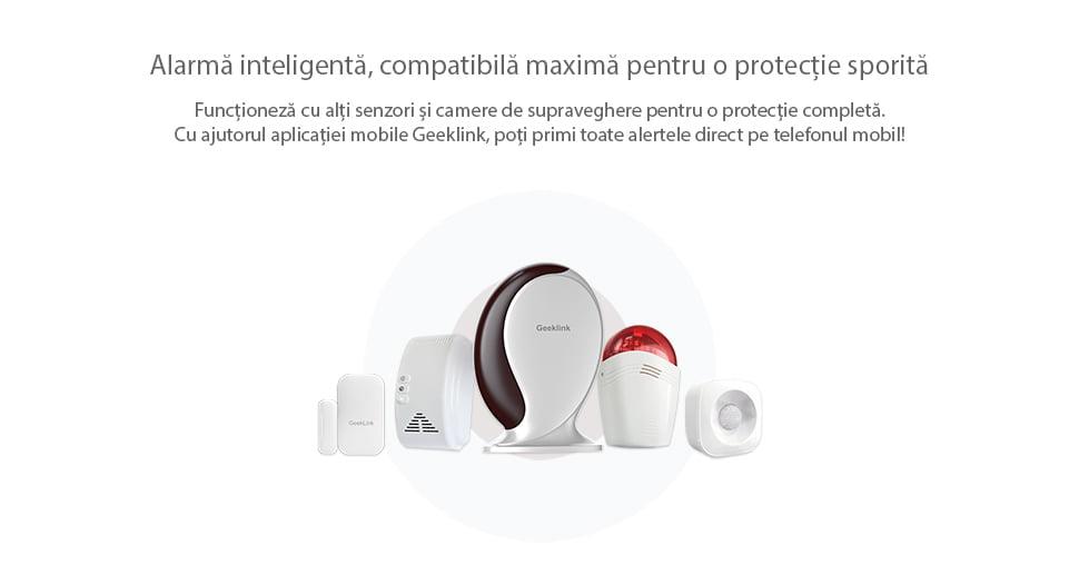 Sirena inteligenta wireless Geeklink 19