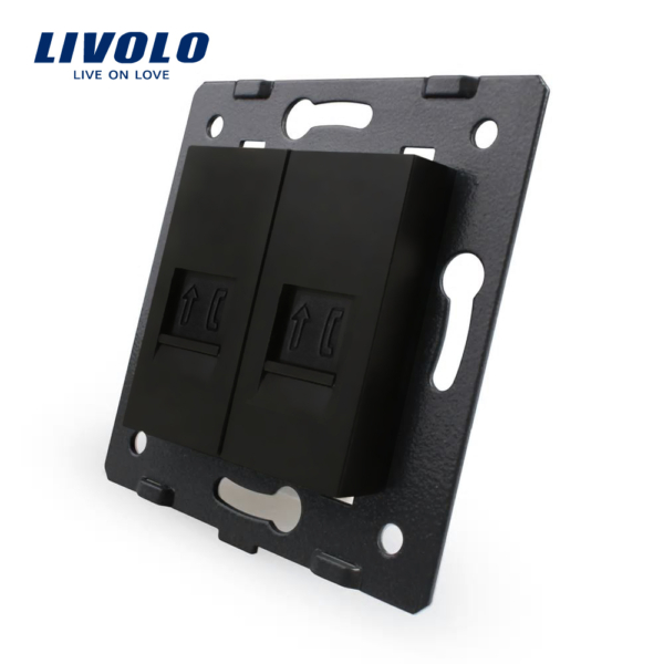 Modul Priza Dubla Telefon, Livolo 6