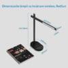 Lampa de birou cu incarcare wireless QI pentru telefonul mobil RS-LTL-508W 7