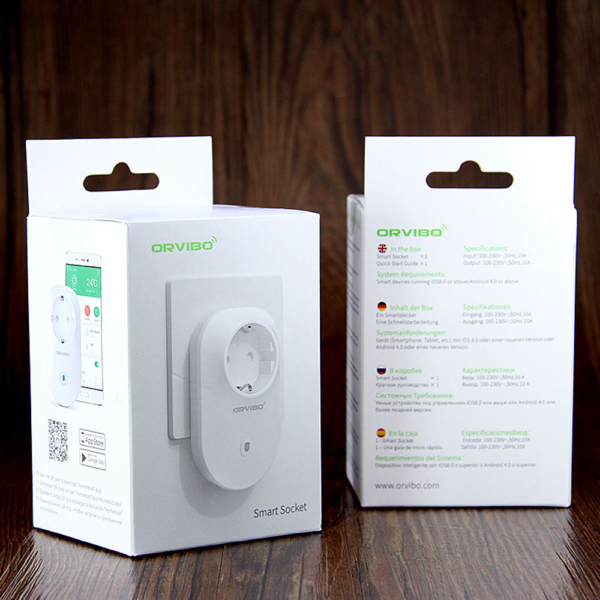 Priza Inteligenta Orvibo Wi-Fi B25EU, Control de pe telefonul mobil 6