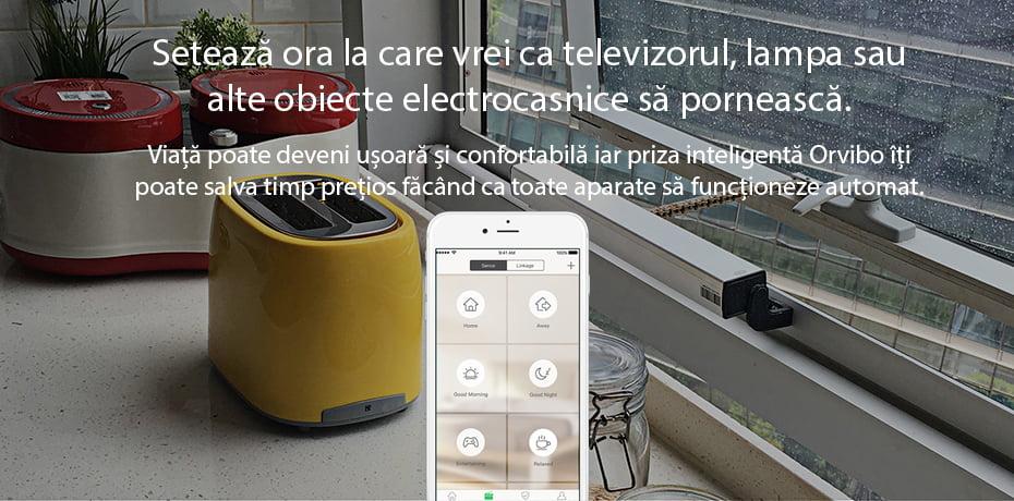 Priza Inteligenta Orvibo Wi-Fi B25EU, Control de pe telefonul mobil 16