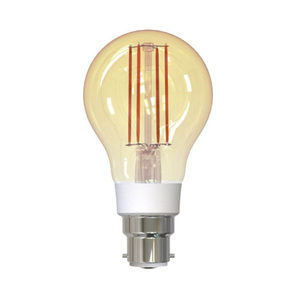 Bec inteligent LED Wireless Homeflow B-5008, B22, 5.5W (40W), 500lm, dimabil, filament, lumina calda, Control de pe telefonul mobil 11