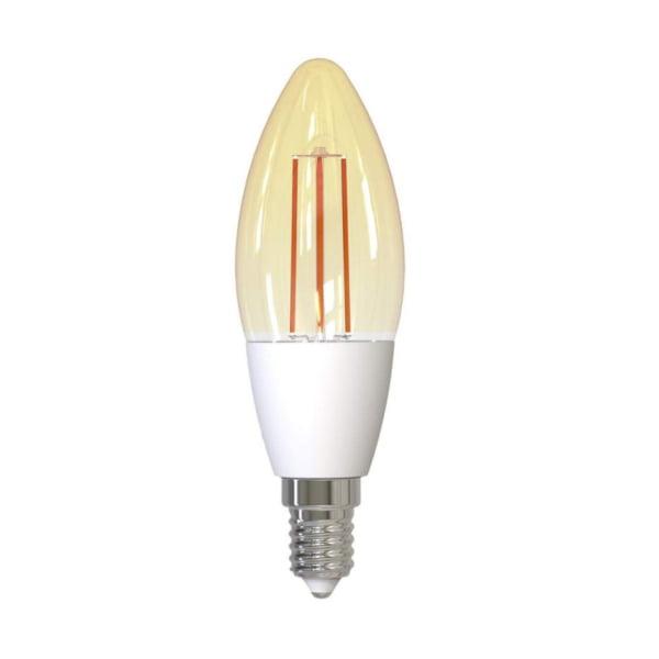 Bec inteligent LED Wireless Homeflow B-5007, E14, 4.5W (25W), 400lm, dimabil, filament, lumina calda, Control de pe telefonul mobil 12
