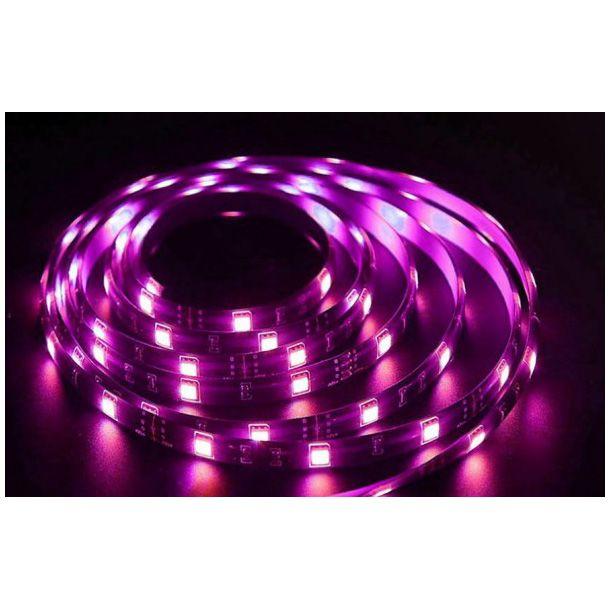 Banda inteligenta Wireless Light Strip LED RGB Sonoff L1, Lungime 2 m, Telecomanda inclusa, Control vocal, Control de pe telefonul mobil 12