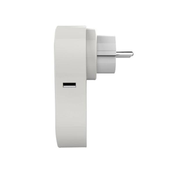 Priza inteligenta RedSun EU RS-J6 cu port USB, compatibil Alexa si Google Home, Control de pe telefonul mobil 4