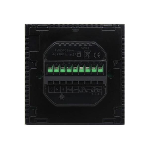 Termostat cu fir pentru aer conditionat BeOk TGT70WIFI-AC2, Control de pe telefonul mobil, Compatibil cu sisteme HVAC 4
