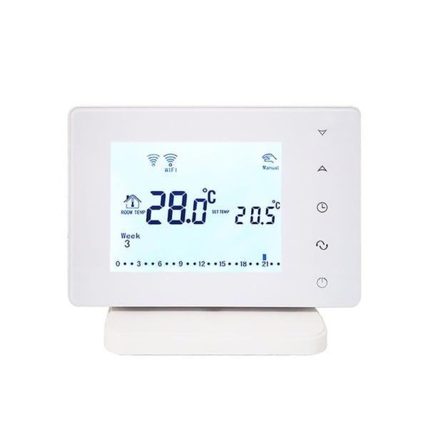 Termostat Wi-Fi pentru centrala termica pe gaz si incalzire in pardoseala cu agent termic BeOk BOT306RF-WIFI, Programabil, Memorare setari, Anti-inghet, Control de pe telefonul mobil 2
