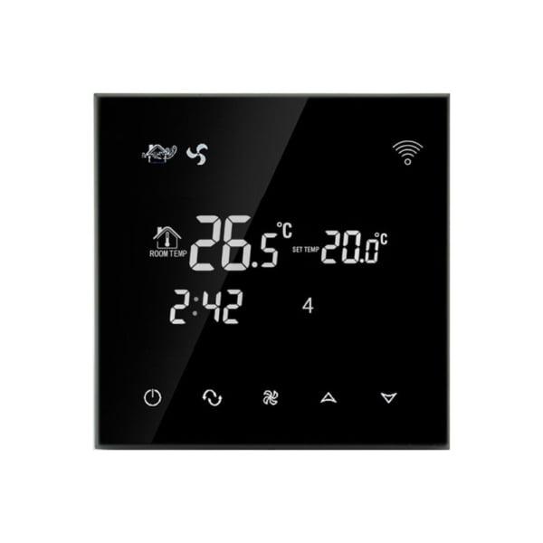 Termostat cu fir pentru aer conditionat BeOk TGT70WIFI-AC2, Control de pe telefonul mobil, Compatibil cu sisteme HVAC 5