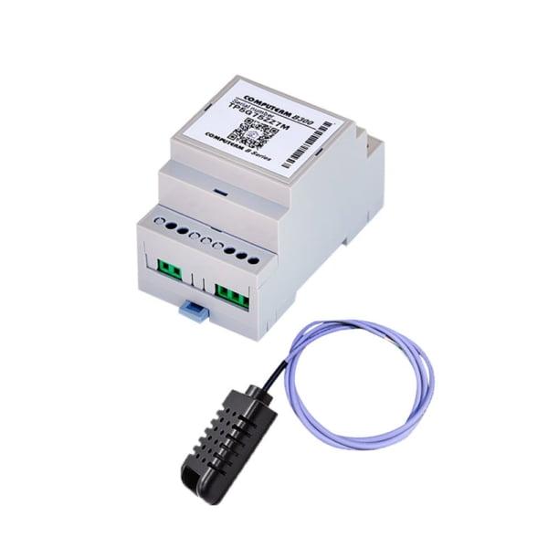 Termostat COMPUTHERM B300 Wi-Fi cu senzor de temperatura cu fir, Timer, Control de pe telefonul mobil, Distribuire control acces 1