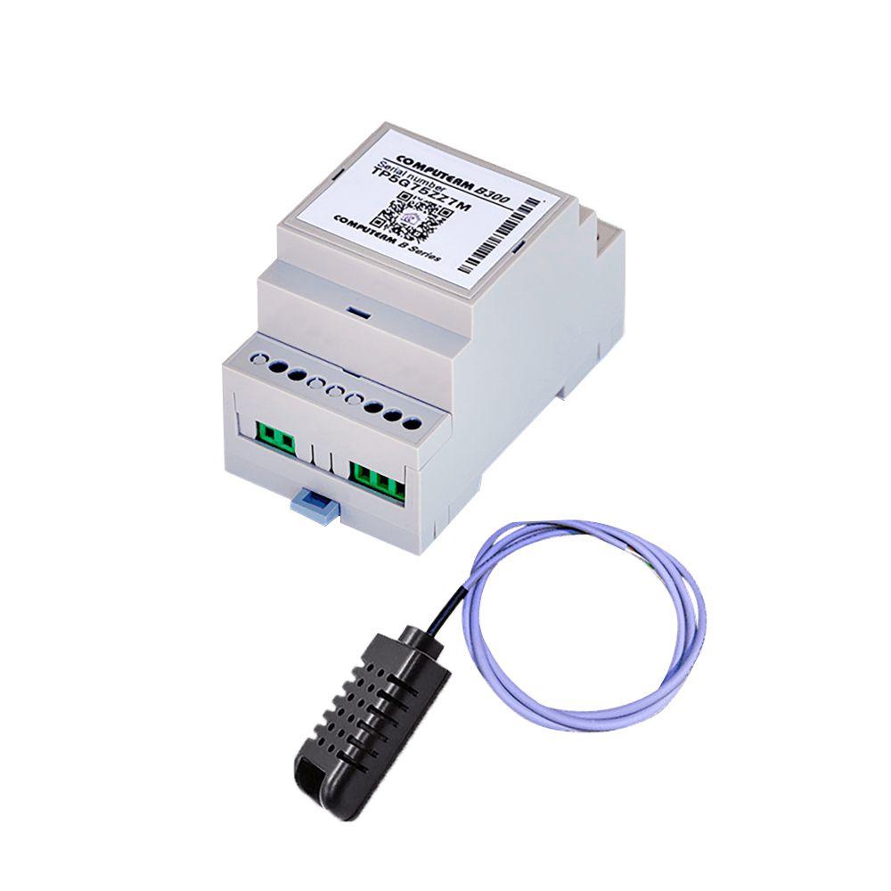 Termostat COMPUTHERM B300 Wi-Fi cu senzor de temperatura cu fir, Timer, Control de pe telefonul mobil, Distribuire control acces